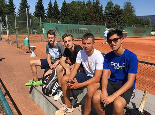 Foto der U18 Mannschaft des TC Lindenau
